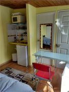 New small studio inserted in the garden of a small Residence, Kitchenette, with electric cooking plates, big wardrope. relaxed atmosphere, terrace is shared with the house owner. Towels and sheets are weekly changed,  one washing service weekly.
