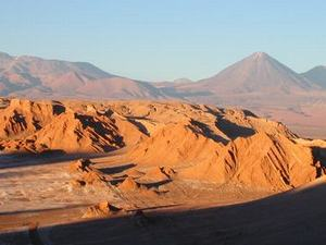 Valle de la Luna - The moon valley in the Atacama Desert